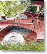 Rusted Truck 4 Metal Print