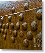 Rusted Whaling Machinery Metal Print