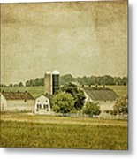 Rustic Farm - Barn Metal Print