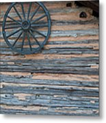 Rustic Ornamentation - Yates Mill Pond Metal Print