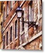 Rustic Rome Apartments Metal Print