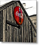Rustic Metal Print by Scott Pellegrin