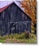 Rustic Vermont Barn Metal Print
