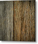 Rustic Wood Background Metal Print