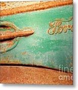 Rusting Ford Metal Print