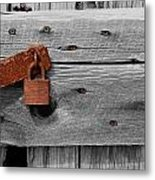 Rusty And Old 2 Metal Print