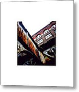 Rusty Beam_07.09.12 Metal Print