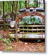 Rusty Caddy 3 Metal Print