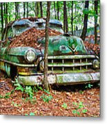 Rusty Caddy 4 Metal Print