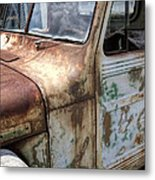 Rusty Classic Willy's Jeep Pickup Metal Print