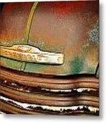 Rusty Gold Metal Print