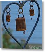 Rusty Heart 3 Metal Print
