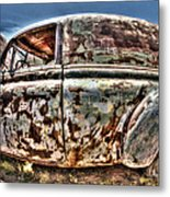 Rusty Old American Dreams - 4 Metal Print