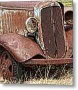 Rusty Old Chevy Metal Print
