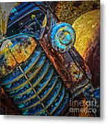 Rusty Old Thing Metal Print