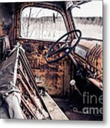 Rusty Relic Truck Metal Print