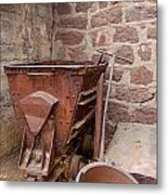 Rusty Ruins In Jerome Arizona Metal Print
