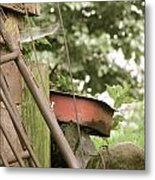 Rusty Things Metal Print by Andrea Dale