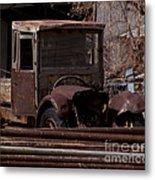 Rusty Truck   #1049 Metal Print