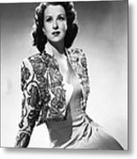 Ruth Warrick, Ca. Late 1940s Metal Print