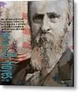 Rutherford B. Hayes Metal Print