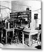Rutherford's Cavendish Laboratory Metal Print
