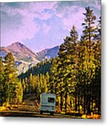 Rv And See America Metal Print