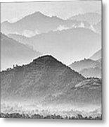 Rwanda Hills Metal Print