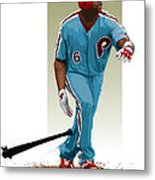 Ryan Howard Metal Print