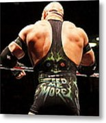 Ryback Feed Me More Metal Print