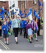 Rye Olympic Torch Parade Metal Print