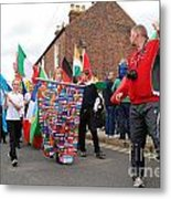 Rye Olympic Torch Relay Parade Metal Print
