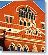 Ryman Auditorium Metal Print by Brian Jannsen