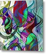 Rythem Of Change Metal Print