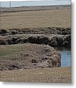S Curve Creek Metal Print