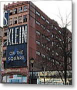 S Klien On The Square Metal Print