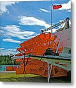 S S Klondike On Yukon River In Whitehorse-yt Metal Print