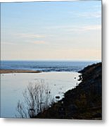 Sable Meets Lake Michigan Metal Print