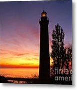 Sable Point Sunset Metal Print