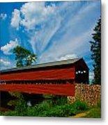 Sachs Bridge Metal Print