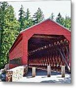 Sachs Covered Bridge 4 Metal Print