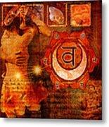 Sacral Chakra Metal Print