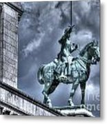 Joan Of Arc Sacre Coeur Paris Metal Print