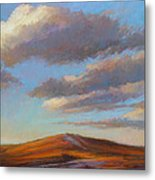 Sacred Dune Metal Print by Ed Chesnovitch