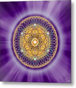 Sacred Geometry 139 Metal Print