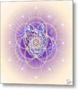 Sacred Geometry 140 Metal Print