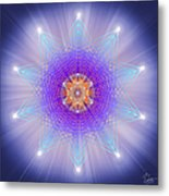 Sacred Geometry 144 Metal Print