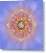 Sacred Geometry 156 Metal Print