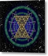 Sacred Geometry 181 Metal Print