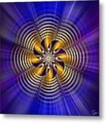 Sacred Geometry 184 Metal Print